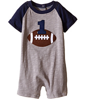 Mud Pie - Football Birthday Shortall (Infant)