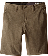 Volcom Kids - SNT Static Hybrid Shorts (Big Kids)
