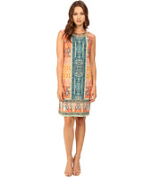 Christin Michaels - Marian Beaded Neck Dress