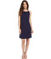 Lilla P - Stretch Jersey Shirred Neck Dress
