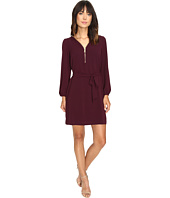 Christin Michaels - JD Zip Front Shift Dress