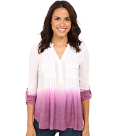 Christin Michaels - Dip Dye Gauze Blouse