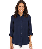 Christin Michaels - Paula Button Down Blouse