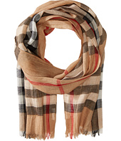 Burberry Kids - Gauze Check Scarf (Little Kids/Big Kids)
