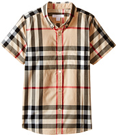 Burberry Kids - Regular Fit Shirt with One Front Pocket (Little Kids/Big Kids)