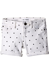 DL1961 Kids - Piper Cuffed Shorts in Starburst (Toddler/Little Kids)