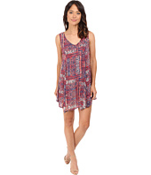 Brigitte Bailey - Shelby Uneven Hem Printed Dress