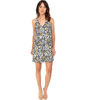 Brigitte Bailey - Minna V-Neck Printed Swing Dress