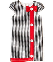 Us Angels - Houndstooth Cap Sleeve A-Line Dress (Toddler)