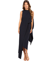 Zac Posen - Stretch Cady Asymmetrical Sleeveless Dress
