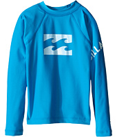 Billabong Kids - Team Wave Long Sleeve Rashguard ( Toddler/Little Kids/Big Kids)
