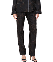 Vera Wang - Printed Skinny Pajama Pants