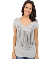 Brigitte Bailey - Adley Short Sleeve Fringe Top