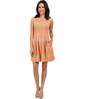 Christin Michaels - Elyse Sleeveless Pleated Dress