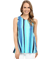 Karen Kane - Aquamarine Stripe Tank Top