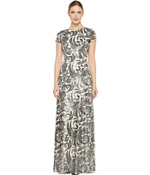 Donna Morgan - Simone - Beaded Cap Sleeve Dress
