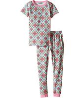BedHead Kids - Short Sleeve Long Bottom Pajama Set (Toddler/Little Kids)