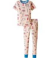 BedHead Kids - Short Sleeve Long Bottom Pajama Set (Big Kids)