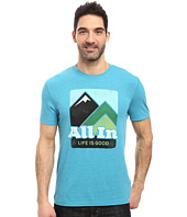 Life is Good - All In Mountains Cool Tee