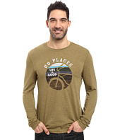 Life is Good - Go Places Stripes Long Sleeve Cool Tee