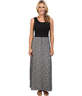 Calvin Klein - Maxi Dress w/ Leaf Jauquard