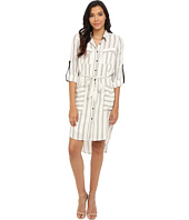 Adelyn Rae - Stripe Shirt Dress