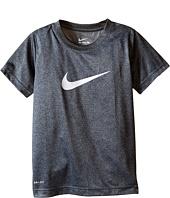 Nike Kids - Faux Heather Dri-FIT™ Short Sleeve Tee (Little Kids)