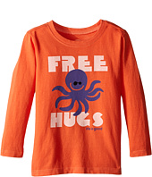 Life is Good Kids - Octopus Hugs Long Sleeve Tee (Toddler)