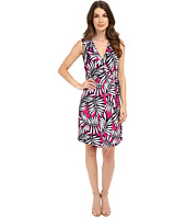 Laundry by Shelli Segal - Palm Reader Sleeveless Wrap Dress