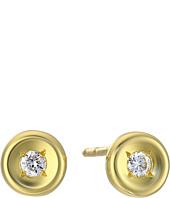 Roberto Coin - Tiny Treasures 18K Earrings with Diamonds
