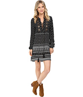 Brigitte Bailey - Cai Long Sleeve Dress with Front Beading