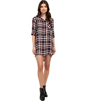 Brigitte Bailey - Leyla Boyfriend Shirtdress with Roll Up Hem