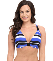 Seafolly - Walk the Line F Cup Halter Top