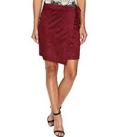 kensie - Drapey Faux Suede Skirt KS9K6230