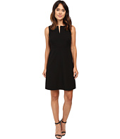 Ellen Tracy - Split Neck A-Line Dress