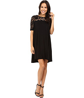Karen Kane - Pencil Sleeve Lace Maggie Trapeze Dress