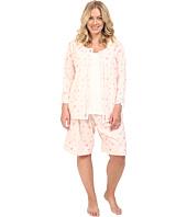 Carole Hochman - Plus Size Three-Piece Bermuda Pajama Set