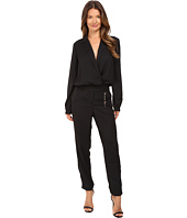Versace Jeans - Long Sleeve Side Chain Jumpsuit