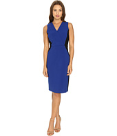 Ellen Tracy - Color Block Wrap Sheath