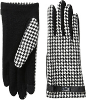 LAUREN Ralph Lauren - Menswear Pattern Metal Logo Touch Gloves