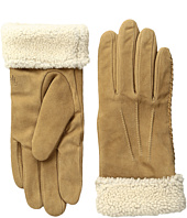 LAUREN Ralph Lauren - Suede & Shearling Thinsulate Gloves