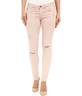 AG Adriano Goldschmied - The Leggings Ankle in Sun Faded Distressed Sandy Rose