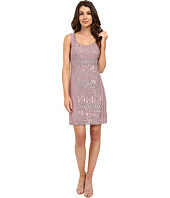 Adrianna Papell - Sleeveless Beaded Cocktail Dress
