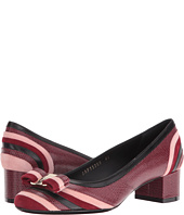 Salvatore Ferragamo - Calfskin Low-Heel Pump