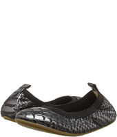 Yosi Samra Kids - Sammie Frosted Python Embossed Leather Flat (Toddler/Little Kid/Big Kid)