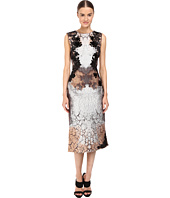 Alberta Ferretti - Sleeveless Placed Printed Dress