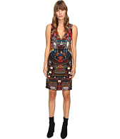 DSQUARED2 - Samurai Printed V-Neck Dress