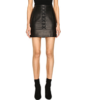 Neil Barrett - Laced Nappa Plonge Pencil Skirt