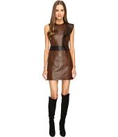 Neil Barrett - Leather Slim Fit Dress