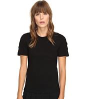 Neil Barrett - Laced Regular Interlock Jersey T-Shirt